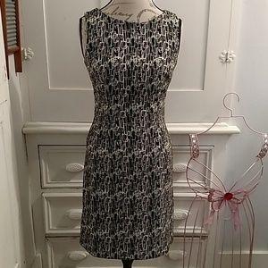 Dress barn sleeveless print dress Sz 4